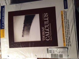 9781269644334: Thomas' Calc UT Package >CUSTOM<