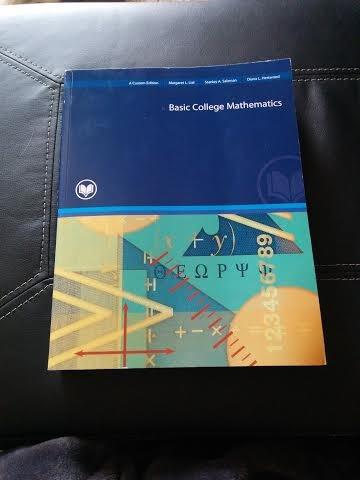9781269645119: Basic College Mathematics, A Custom Edition