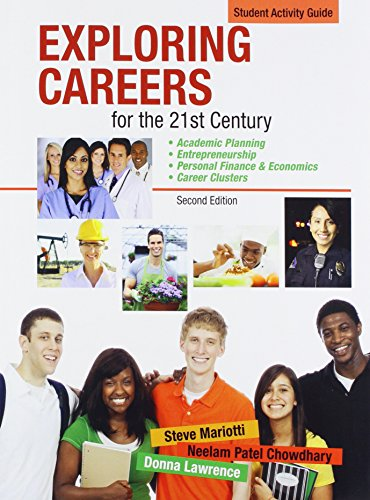 9781269652506: Exploring Careers for the 21st Century, Student Activity Guide