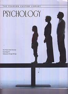 Psychology: Pearson Custom Library