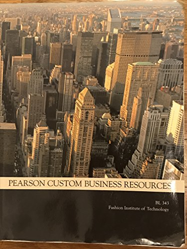 9781269671798: Business Law (BL 343 Fashion Institute of Technology)