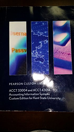 Accounting Information Systems (ACCT 33004 / 43014): Steven R. Kursh