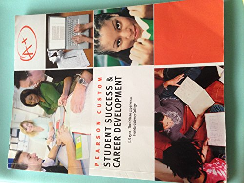 9781269689960: Student Success & Career Development