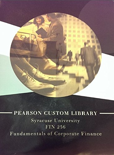 Pearson custom business resources abebooks fundamentals of corporate finance pearson custom business fandeluxe Images