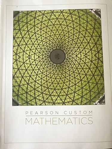 9781269704977: Pearson Custom Mathematics