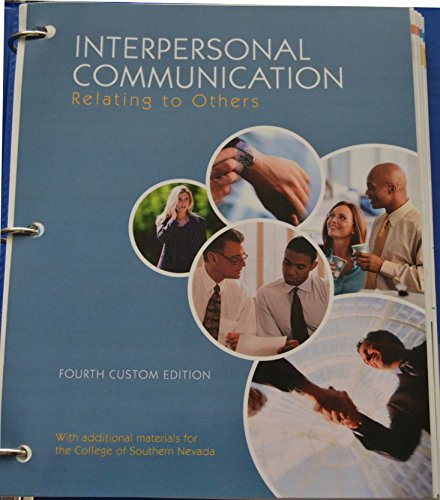9781269726252: Interpersonal Communication