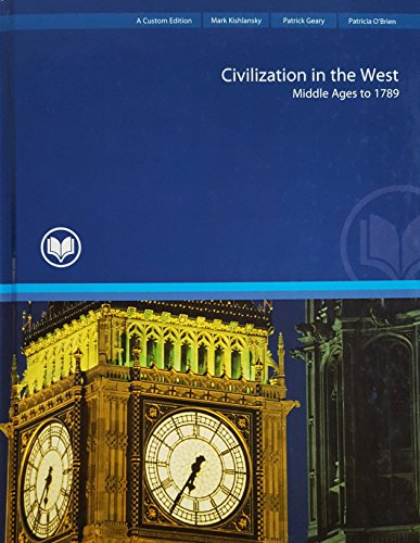 9781269734042: Civilization in the West, Combined Volume Rio Salado College