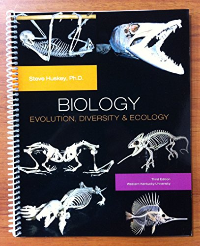 9781269738460: Biology: Evolution, Diversity & Ecology (3rd Edition for Western Kentucky)