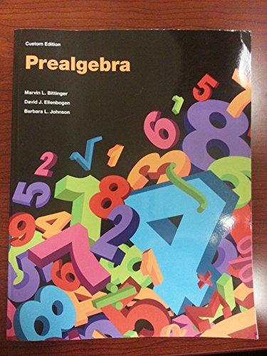 9781269741262: Prealgebra