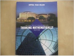 9781269741637: Thinking Mathematically