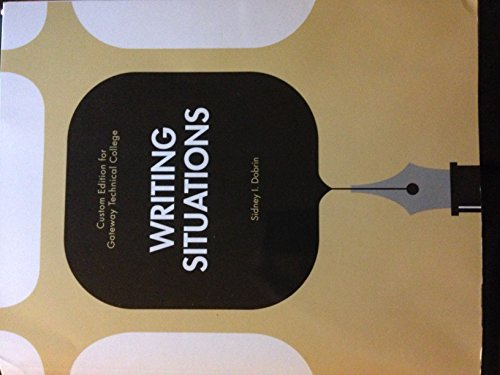 9781269745338: Writing Situations (Savings Edition for Gateway Tech)
