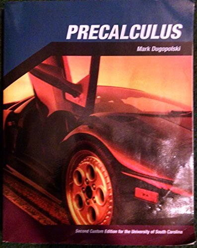 9781269748155: Precalculus Second Custom Edition for the University of South Carolina