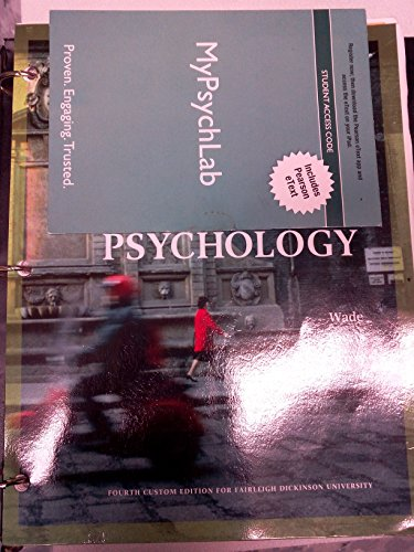 9781269754606: Psychology for Fairleigh Dickinson University0