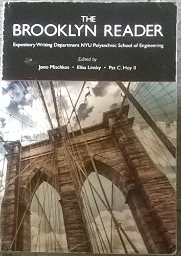 9781269755900: The Brooklyn Reader Expository Writing Department NYU Polytechnic School of Engineering