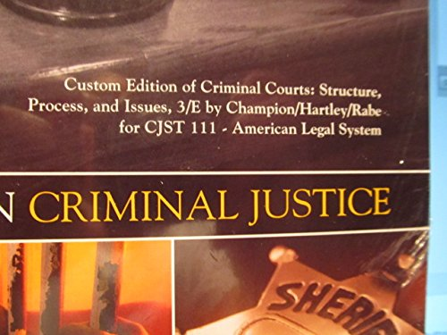 9781269762397: Pearson Criminal Justice Custom Edition for Northampton Community College CJST111