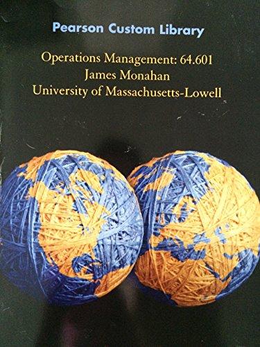 9781269770101: Operations Management