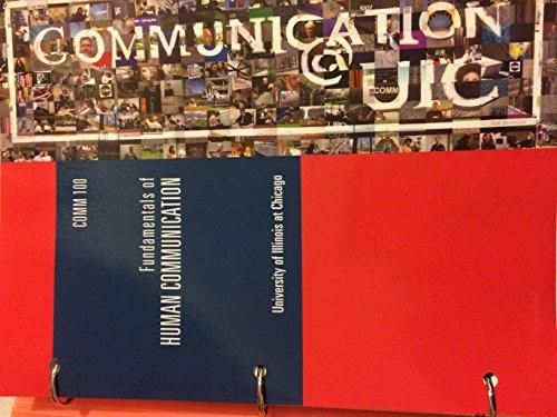 9781269771085: Comm 100 Fundamentals of Human Communication UIC