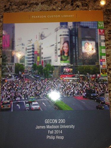 9781269771566: GECON 200 James Madison University Fall 2014