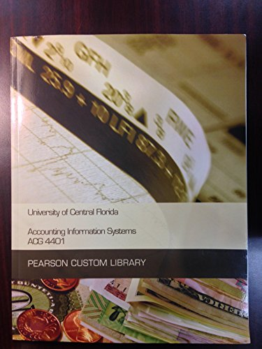 9781269773188: Accounting Information Systems ACG 4401 University of Central Florida