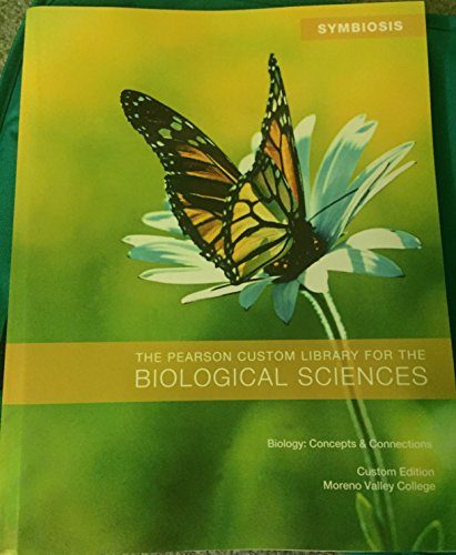 9781269773737: The Pearson Custom Library for the Biological Sciences (Moreno Valley)