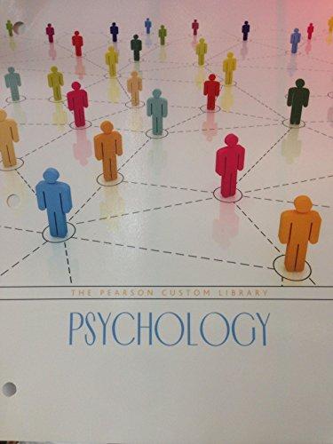 The Pearson Custom Library Psychology: Samuel E Wood,