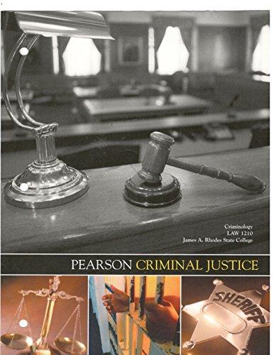 9781269787123: Criminology Law 1210-pearson Criminal Justice