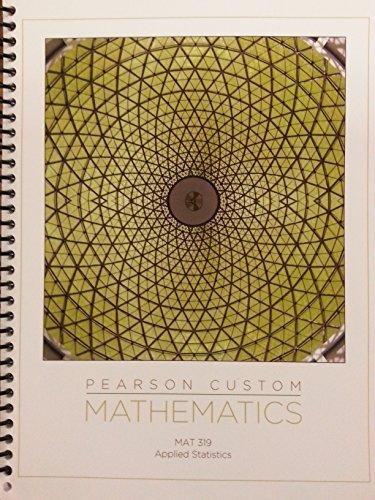 MATHEMATICS - WCU MAT 319 Applied Statistics