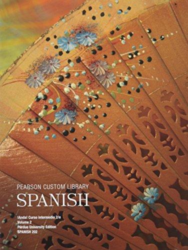 9781269820271: Pearson Custom Library Spanish Package Purdue University