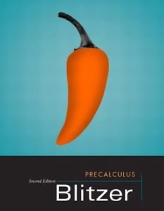 9781269862882: Precalculus Second Custom Edition for Eastern Florida State College
