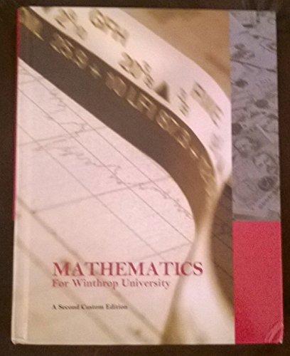 9781269865814: Mathematics for Winthrop University