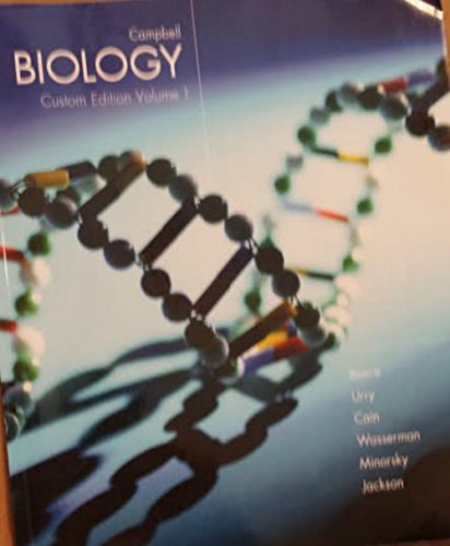 9781269866811: Campbell Biology Custom Edition Volume 1