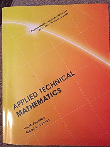9781269869928: Applied Technical Mathematics