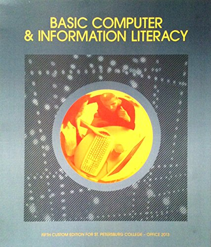 9781269870863: Basic Computer & Information Literacy