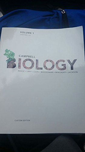 9781269881586: Campbell Biology Volume 1: Chapters 1-21 (Custom Edition)