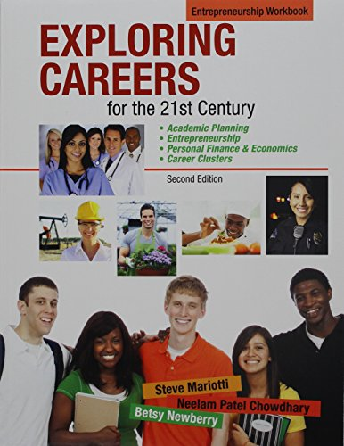 Exploring Careers for the 21st Century Entrepreneurship: Pearson Learning Solutions