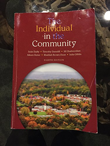 The Individual In the Community: Sean Duffy; Timothy