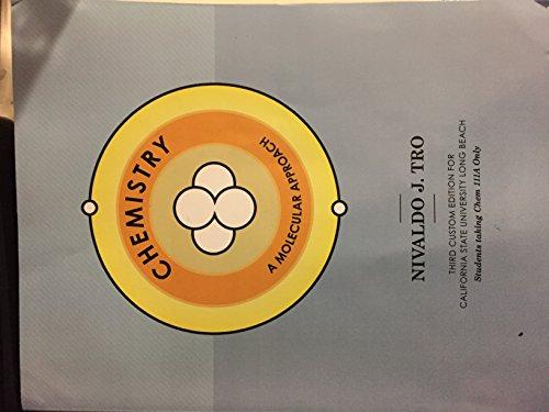 9781269888929: Chemistry: A Molecular Approach (3rd Custom Edition for Cal State Long Beach)