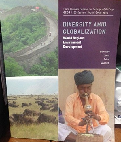 9781269892766: Diversity Amid Globalization