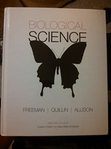 9781269893602: Biological Science (Custom Edition for Iowa State University)
