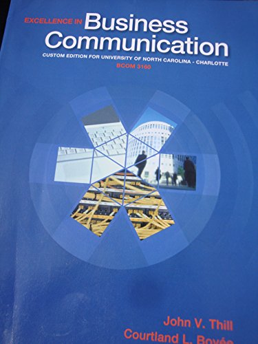 9781269894777: Excellence in Business Communication