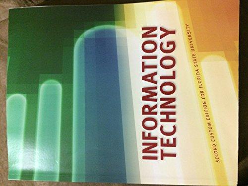 9781269897372: Information Technology Package for FSU Custom