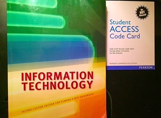9781269897389: Information Technology Second Custom Edition for FSU