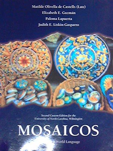 9781269901901: Mosaicos Spanish as a World Language