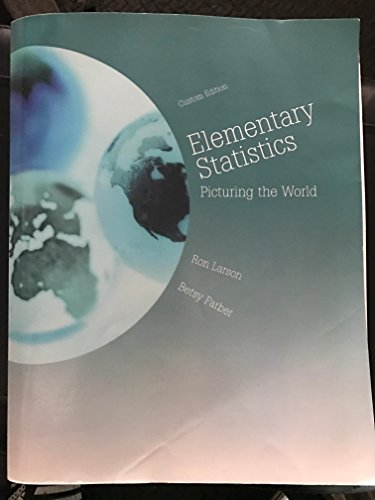 9781269902137: Elementary statistics: picturing the world