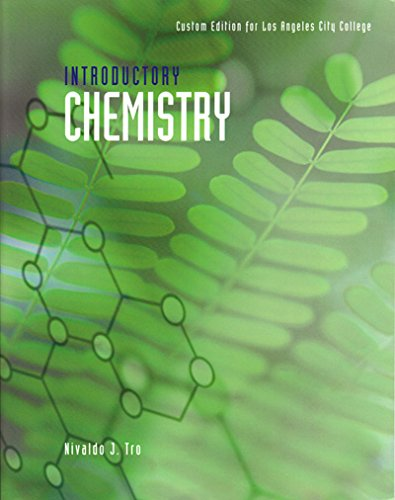 9781269902847: Introductory Chemistry: Custom Edition for Los Angeles City College