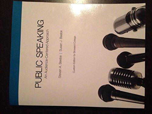 9781269904131: Public Speaking Custom Edition for Broward College