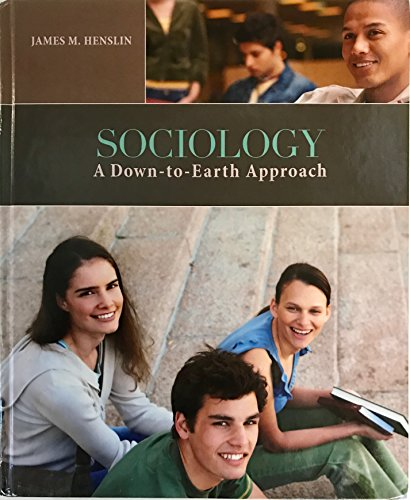 9781269907163: Sociology a Down-to-earth Approach