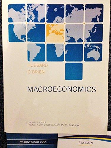 9781269913164: Macroeconomics PCC Custom Edition S. Kim