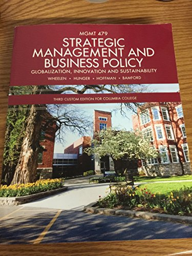 9781269916448: Strategic Management and Business Policy