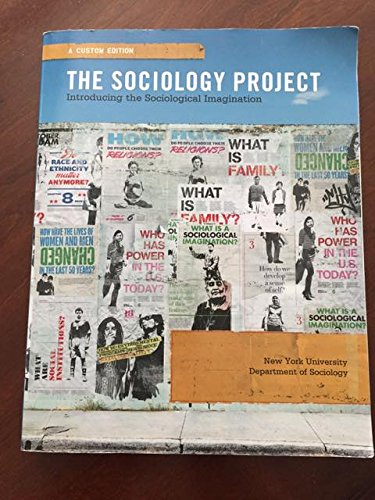9781269919425: The Sociology Project